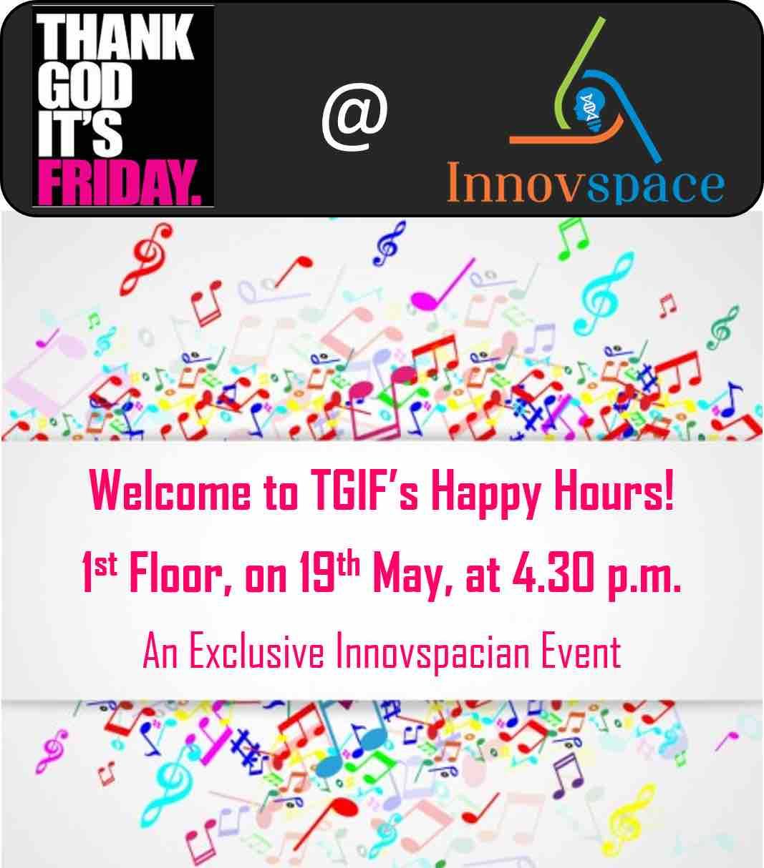 TGIF @Innovspace